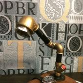 Настольный LED-светильник в стиле Loft/Steampunk