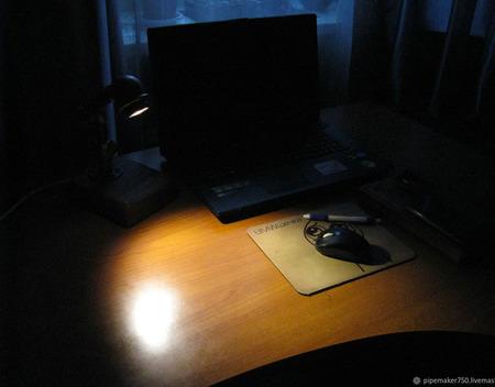 Настольный LED-светильник в стиле Loft/Steampunk ручной работы на заказ