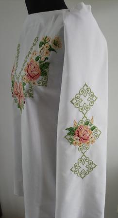 Вышитая заготовка женской рубашки ручной работы на заказ
