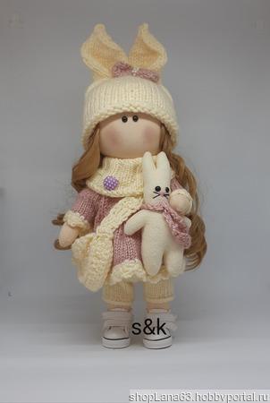 Интерьерная кукла ручной работы ручной работы на заказ