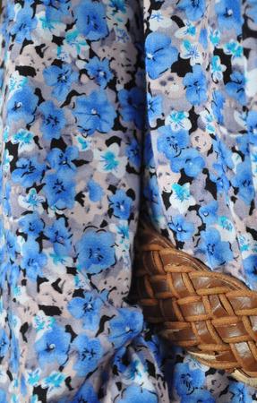 """Длинное платье из хлопка """"Цветок льна"""" ручной работы на заказ"""