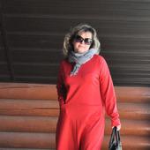 Платье макси из джерси