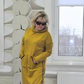 Платье худи из джерси