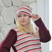 Джемпер и шапка бини
