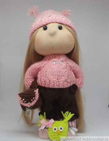 Кукла Совушка ручной работы на заказ
