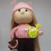 Кукла Совушка