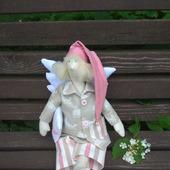 Ангел-хранитель детских снов (Сонный ангел) в стиле Тильда