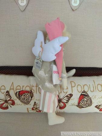 Ангел-хранитель детских снов (Сонный ангел) в стиле Тильда ручной работы на заказ