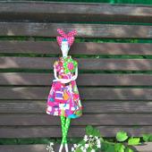 Интерьерная Кукла Хиппи в стиле Тильда