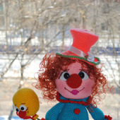 Вязаная кукла Софочка