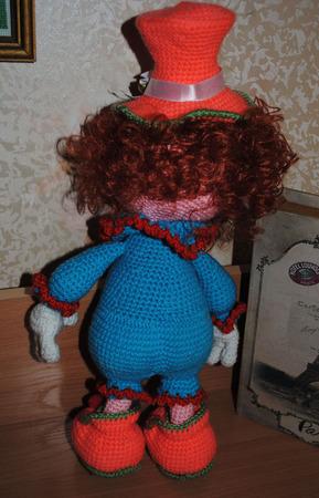 Вязаная кукла Софочка ручной работы на заказ