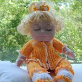 Вязаная кукла Сонечка