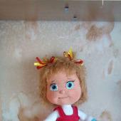 Вязаная  кукла Машенька