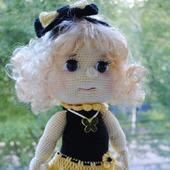 Вязаная кукла Татьяна