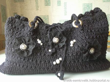 Женская сумка ручной работы на заказ