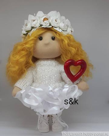 Кукла Ангел ручной работы на заказ