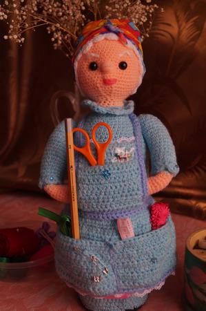 """Кукла """"Рукодельница"""" ручной работы на заказ"""