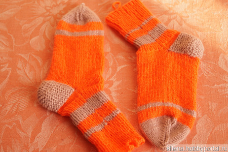 Носочки ручной работы на заказ