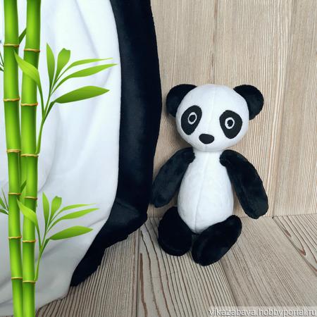 Плюшевый малыш Панда ручной работы на заказ
