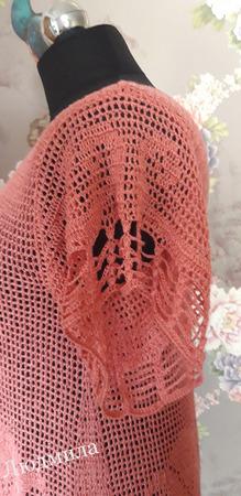 Платье с лилиями ручной работы на заказ