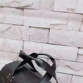 Именная спортивная сумка из натуральной кожи