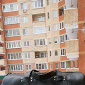 Дорожная сумка из натуральной кожи с тиснением