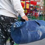 фото: дорожная сумка ручной работы