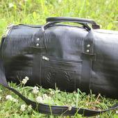 Дорожная сумка кожаная мужская ЭСТЕТ