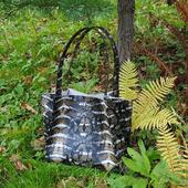 """Женская сумка шоппер под змеиную кожу """"Lacosta"""""""