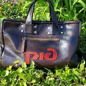 Мужская сумка портфель с вашим логотипом