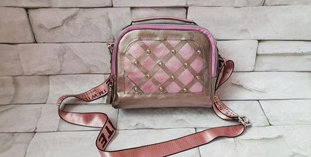 Красная сумка-портфель из натуральной кожи ручной работы на заказ