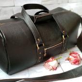 Женская дорожная сумка из кожи