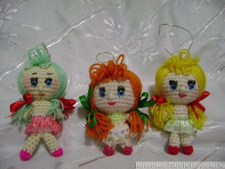 Девочки Тыковки ручной работы на заказ