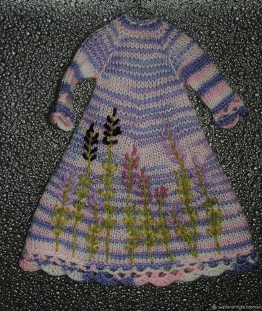 Лавандовая куколка ручной работы на заказ