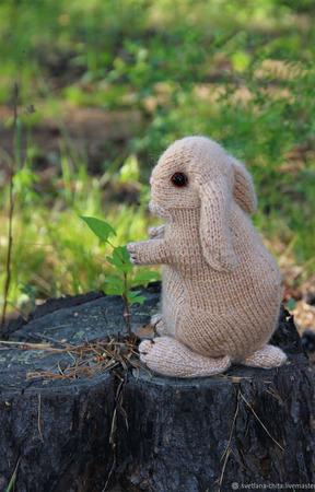 Кролик вислоухий ручной работы на заказ