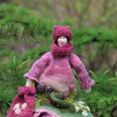 Текстильная кукла Есения