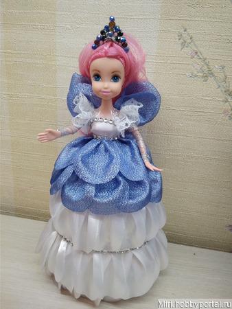 Кукла шкатулка фея ручной работы на заказ