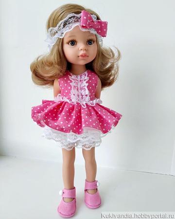 Комплект «Анюта» для куклы Паола Рейна ручной работы на заказ