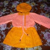 Кардиган-платье