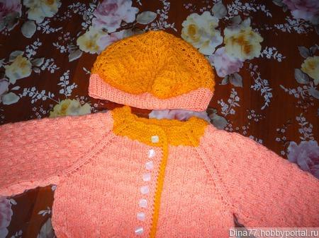 Кардиган-платье ручной работы на заказ