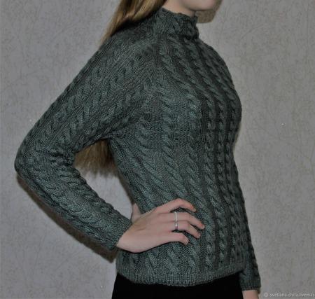 Пуловер ручной работы на заказ
