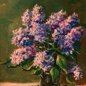 фото: Картины и панно (натюрморт цветы)