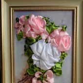 """Картина """"Ветка розы"""""""
