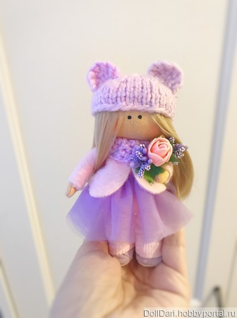 Кукла брелок ручной работы на заказ