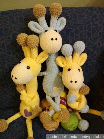 Плюшевые жирафы ручной работы на заказ
