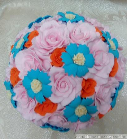 Цветы для интерьера ручной работы на заказ