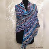 фото: ажурный шарф