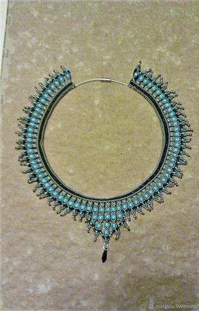 Ожерелье с бисером ручной работы на заказ