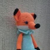 Детская игрушка лисичка