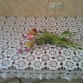 Скатерть из цветочных мотивов